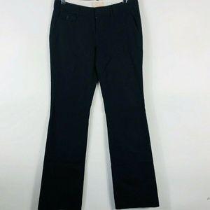 Banana Republic Size 4 Long Black Ryan Fit Pants